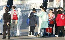 Hoy vence el permiso de estancia de los 629 migrantes que llegaron a Valencia en el Aquarius