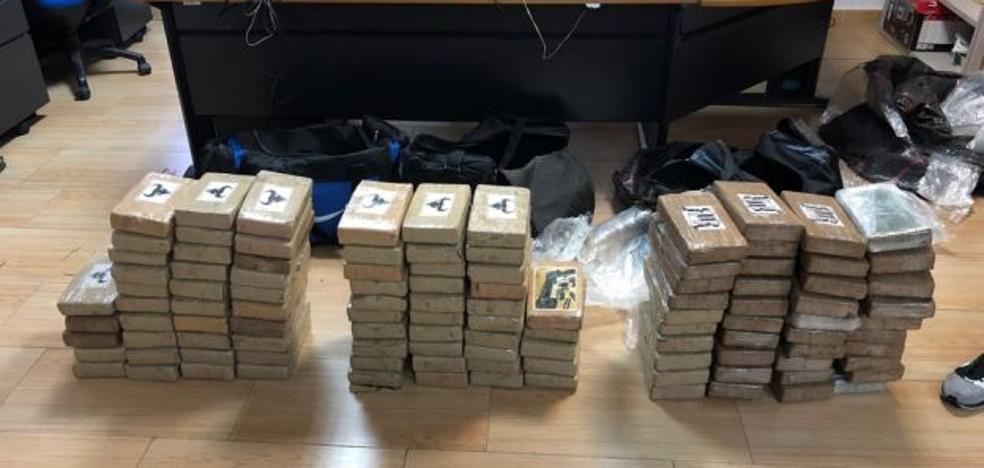 Intervienen un alijo de 110 kilos de cocaína en el Puerto de Valencia