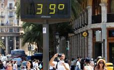 Alerta naranja de Sanidad por calor en Valencia y 15 comarcas