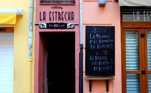 Dentro de la finca más estrecha de Valencia