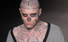 Hallan muerto al modelo canadiense Zombie Boy