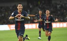 El PSG golea al Mónaco en el regreso de Neymar