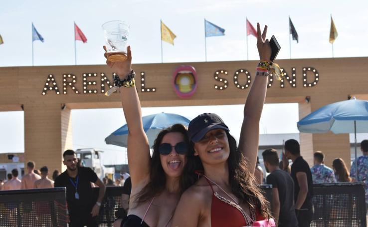 Música, calor y fiesta: las mejores imágenes del Arenal Sound