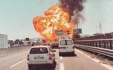 67 heridos tras la explosión de un camión cisterna en Italia