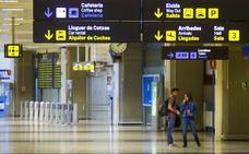 Detenido un hombre con una reclamación judicial internacional en el aeropuerto de Valencia