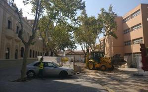El Ayuntamiento de Valencia peatonaliza una calle en el entorno del Hotel Westin