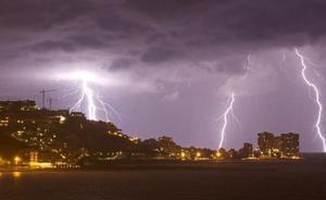 Las tormentas vuelven esta tarde a Valencia y Castellón