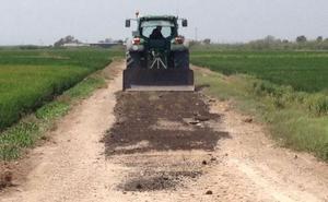 Alfafar inicia las obras de reparación del camino de Rabisancho por 57.000 euros