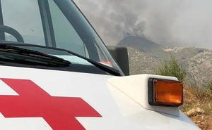 Cruz Roja atiende a 326 vecinos afectados por el fuego