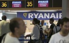 La huelga de Ryanair cancela 14 vuelos en la Comunitat