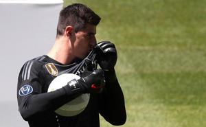 Courtois: «Soy del Madrid por Casillas»