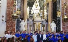 El Valencia, sin Montoya, cumple con la tradición en la Basílica