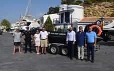 Nueva embarcación para la Policía Local