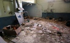Las ruinas de la fábrica abandonada de Lois en la Comunitat