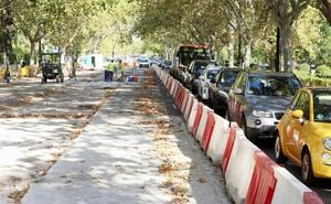 El tráfico aumenta en cinco accesos de Valencia y el Ensanche respecto a 2017
