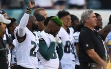 Trump reaviva su guerra con los jugadores de la NFL