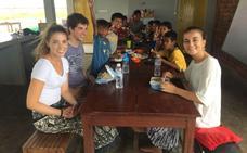 Los valencianos afectados por el terremoto de Lombok: «Ahora, más que nunca, tenemos que ayudar»
