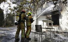 El incendio de Llutxent, al fin controlado
