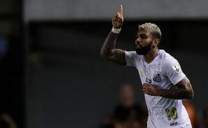 «'Gabigol' tiene una oferta del Valencia CF pero no quiere irse»
