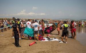 Hallan muerto al joven desaparecido en aguas de la Malvarrosa
