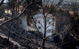 Los rayos produjeron entre un 15% y un 39% de los incendios forestales durante la última década en la Comunitat
