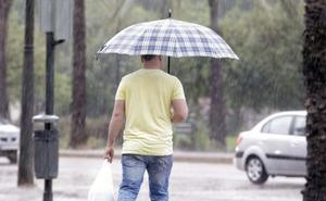 Previsión de lluvias en la costa y granizo en el interior de Valencia