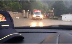 Las precipitaciones alcanzan los 106 l/m2 en Xeresa y obligan a realizar achiques en Gandia e Ibi