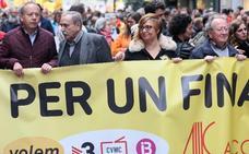 Jordi Cuixart, nuevo presidente de la fundación catalanista en la que se integra Acció Cultural