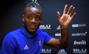 Batshuayi: «Marcelino me convenció para venir al Valencia»