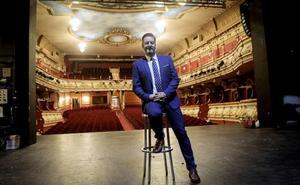 Carlos Galiana: «La política tiene un punto teatral y ser actor me ha servido mucho»