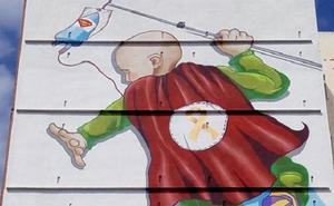 Un mural gigante en Valencia para apoyar a los niños ingresados en la Unidad de Oncología Pediátrica de La Fe