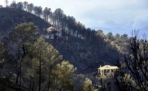 Bomberos declara extinguido el incendio de Llutxent