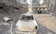 Los afectados por el incendio de Llutxent ya pueden pedir ayudas al Gobierno