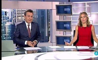 El desagradable vuelo de la presentadora de Telecinco Ángeles Blanco