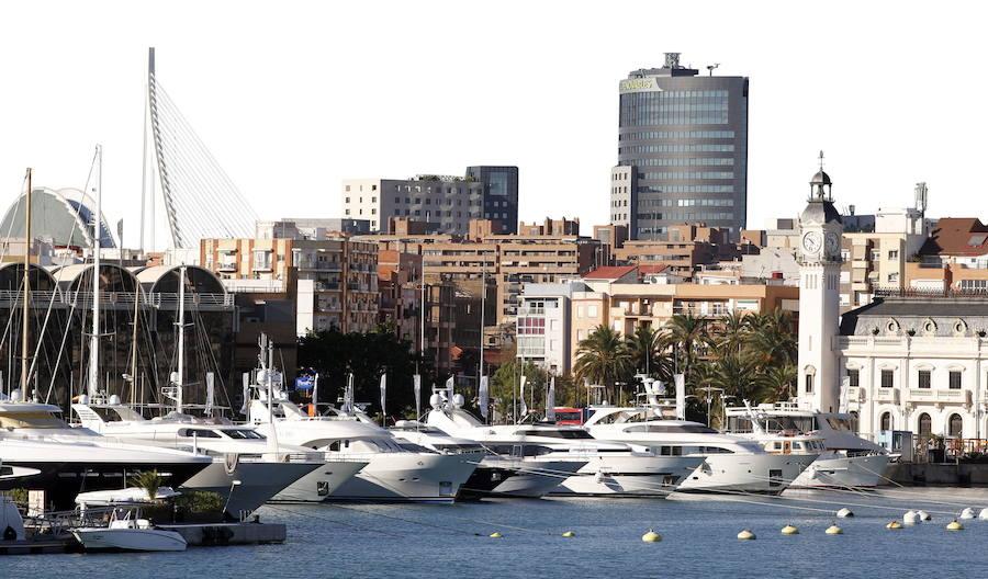 La Marina de Valencia se transforma para facilitar el acceso al peatón