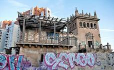 Exigen a Burjassot que reconstruya el Chalé del Rosal tras décadas en ruina