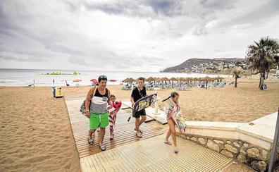 El litoral sur de Valencia y norte de Alicante, en alerta por tormentas y mañana, granizo