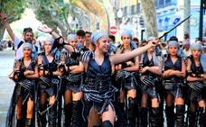 El niños protagonizan el primer desfile de fiestas
