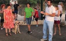 Canals apuesta por las mascotas e inaugura un parque canino