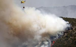 El PP reclama una comisión con expertos para investigar la gestión del incendio de Llutxent