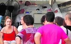 El joven de 385 kilos deja el hospital en camión y acaba en el ambulatorio por una crisis