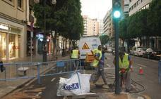 Una fuga de millones de litros obliga a cerrar la red de riego y baldeo en Colón