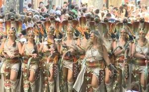 Desfile de Moros y Cristianos de Dénia