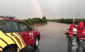 Caída de las máximas, lluvias de hasta 80 litros y 5.000 rayos en la Comunitat Valenciana