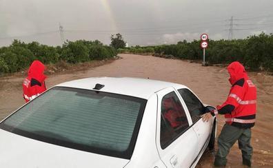 Alerta naranja en toda la Comunitat por lluvias de más de 40 litros en media hora
