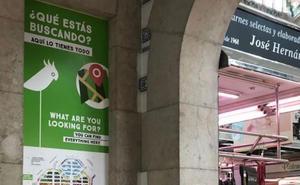Las 300 paradas del Mercado Central en un nuevo mapa