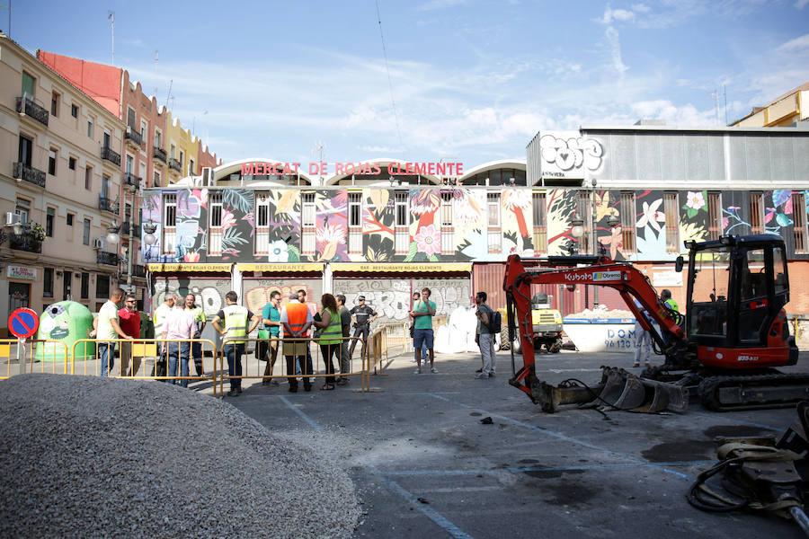 La plaza Rojas Clemente será peatonal en noviembre