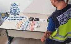 La Policía Nacional desarticula un punto negro de venta de cocaína en la partida de El Rebolledo en Alicante