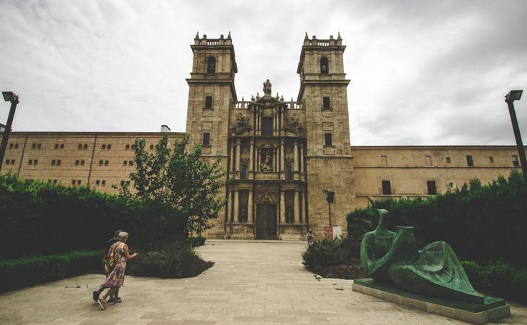 Dentro del Monasterio de San Miguel de los Reyes