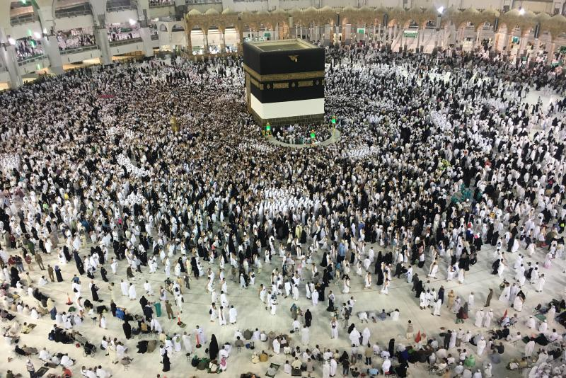 Más de dos millones de musulmanes realizan la peregrinación a La Meca